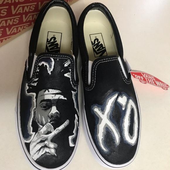 Vans Shoes - Custom painted Vans